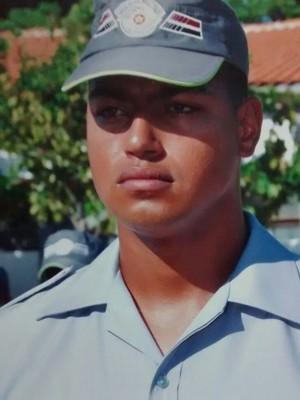 Roodney Gregório começou como temporário na PM (Foto: Polícia Militar/Divulgação)
