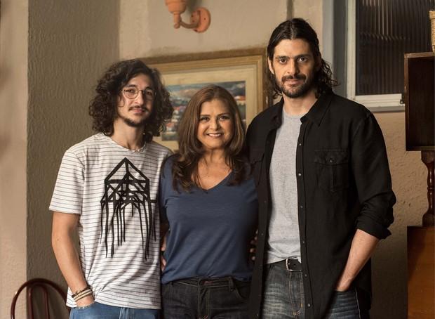 Personagem de Julio Machado em Império era filho de Jurema (Elizângela) (Foto: Globo/Ellen Soares)