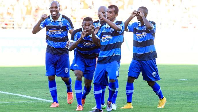 CRB x CSA, no Estádio Rei Pelé (Foto: Ailton Cruz/Gazeta de Alagoas)