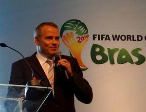 Sven Schaeffner FIFA (Foto: Viviane Leão/GLOBOESPORTE.COM)