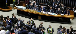 plenario-camara-impeachment Câmara vota neste domingo se abre processo de impeachment de Dilma