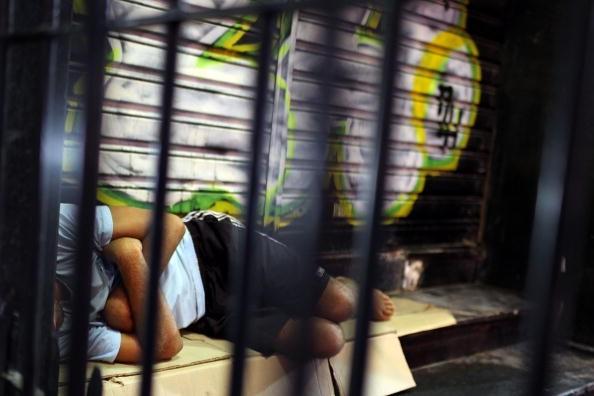 Rio de Janeiro Pobreza Sem-teto Morador de rua (Foto: Getty Images)