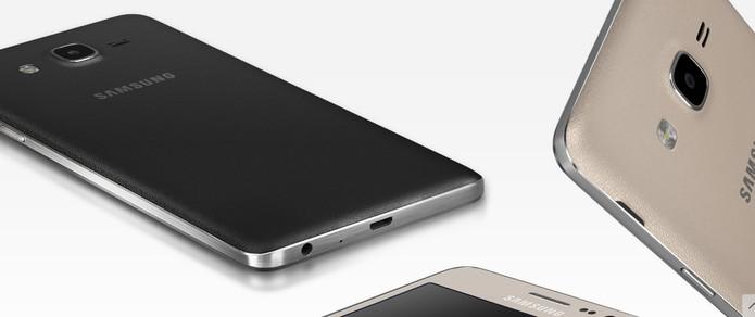 Galaxy On 7 vem com bateria de 3.000 mAh (Foto: Divulgação/Samsung)