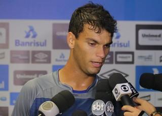 Rafael Thyere GRêmio (Foto: Eduardo Moura/GloboEsporte.com)