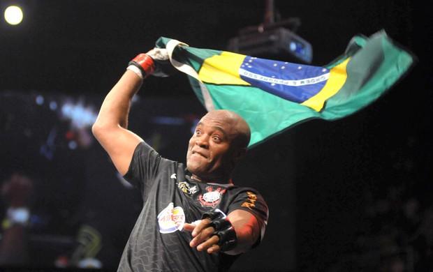 Anderson Silva, UFC RIO III (Foto: André Durão / Globoesporte.com)
