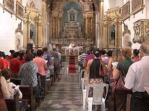 Missa Catarina Paraguaçu (Foto: Imagem/TV Bahia)