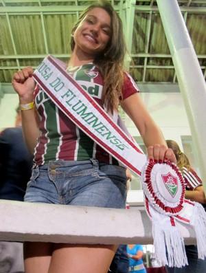Musa do Fluminense comemoração fluminense (Foto: André Casado / Globoesporte.com)