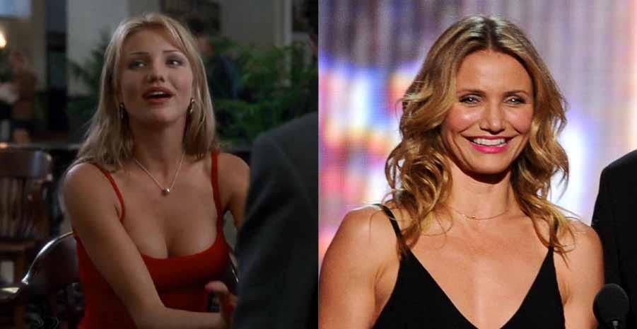 A modelo conseguiu seu primeiro papel ao lado de Jim Carrey em 'O Máscara', em 1994. Atualmente, ela pode ser vista em 'Sex Tape: Perdido na Nuvem' (2014) e 'Annie' (2014). (Foto: Reprodução/Getty Images)