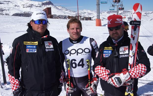 Natko Zrncic-Dim, da Croácia, no Brasileiro de Ski Alpino (Foto: Eduardo Orgler)