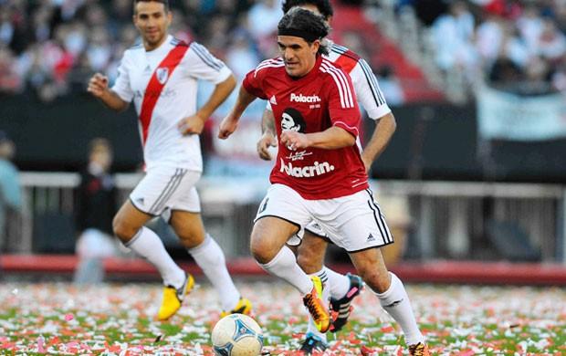 Despedida Ortega River Plate (Foto: Divulgação/Site Oficial do River Plate)