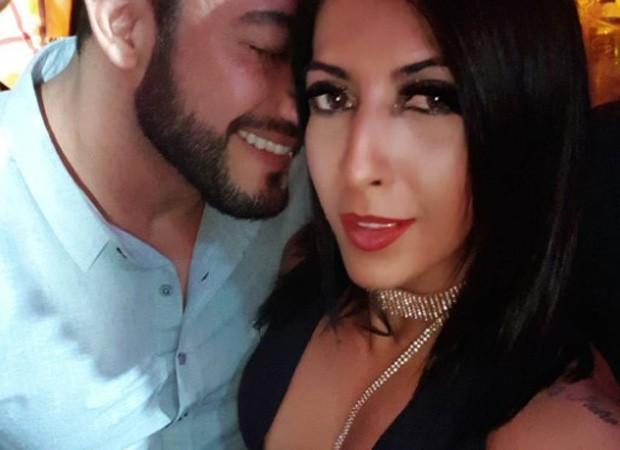 Priscila Pires e o noivo, João Reis (Foto: Reprodução/Instagram)