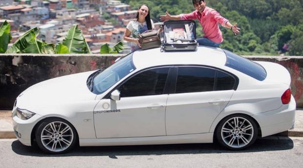Aurion e Vânia, consultores da Hinode: vendas em uma BMW (Foto: Estadão Conteúdo)