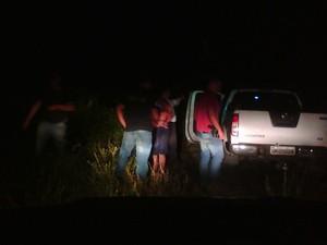 Agente penitenciário foi preso em uma fazenda de Coração de Jesus (Foto: Divulgação / Polícia Civil)