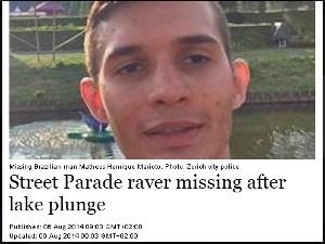 Desaparecimento foi noticiado na imprensa local (Foto: Reprodução/Internet)
