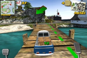 Parcel Panic - Post Car Racer 3D