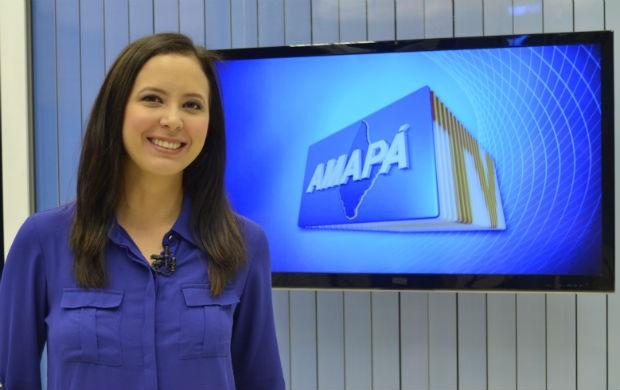 Repórter da TV Amapá Aline Ferreira. (Foto: Celso Kato/G1 AP)