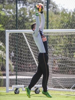 Victor; Atlético-MG: Cidade do Galo; treino (Foto: Bruno Cantini / Site Oficial do Atlético-MG)
