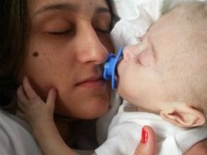 Bebê superação (Foto: Jéssica Marzola/Arquivo Pessoal)