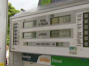 Sete dos oito postos de Campo Belo estão sem combustíveis (Foto: Reprodução/EPTV)