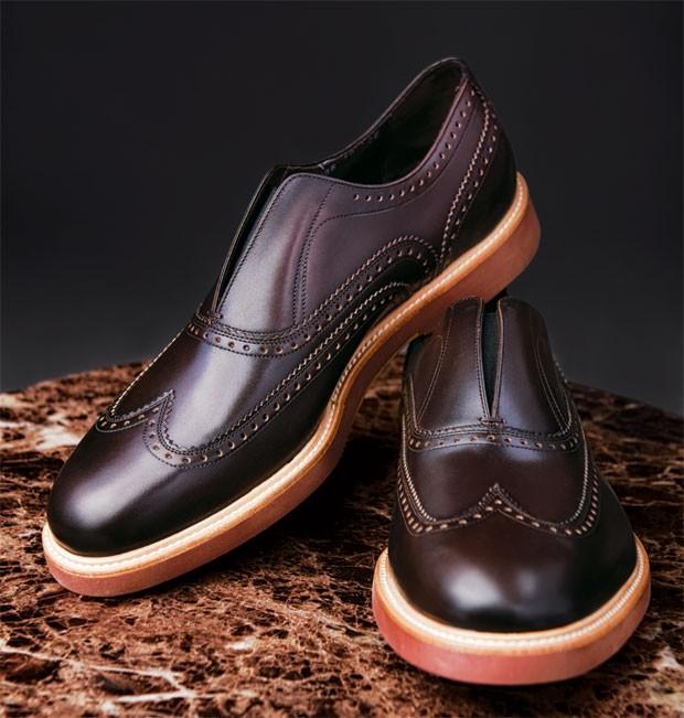 Sapatos Salvatore Ferragamo R$ 2.850 (Foto: Thiago Justo)