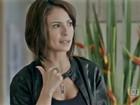Andreia Horta confessa influência da novela no uso de joias: 'Pegando gosto'