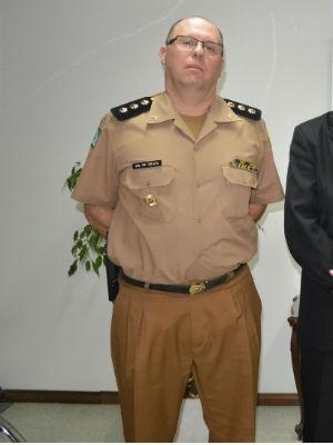 Maurício Tortato foi nomeado novo comandante-geral da Polícia Militar do Paraná (Foto: Osvaldo Ribeiro / Sesp / Divulgação)
