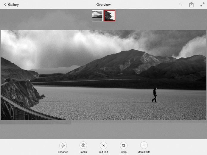 Photoshop Mix, editor gratuito para iPad, ganha novas funções (Foto: Divulgação/Adobe)