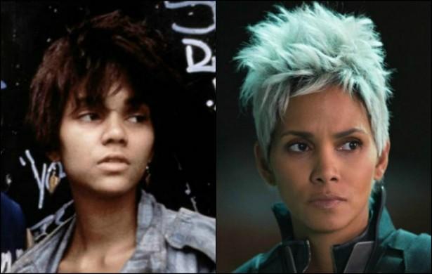 Muito antes de virar a Tempestade da franquia 'X-Men', Halle Berry, hoje com 48 anos de idade, estrelou 'Febre da Selva' em 1991, quando tinha 25. (Foto: Reprodução)