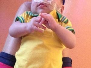 Bebê necessita de R$ 2 milhões para fazer transplante de intestino nos EUA (Foto: Arquivo Pessoal)
