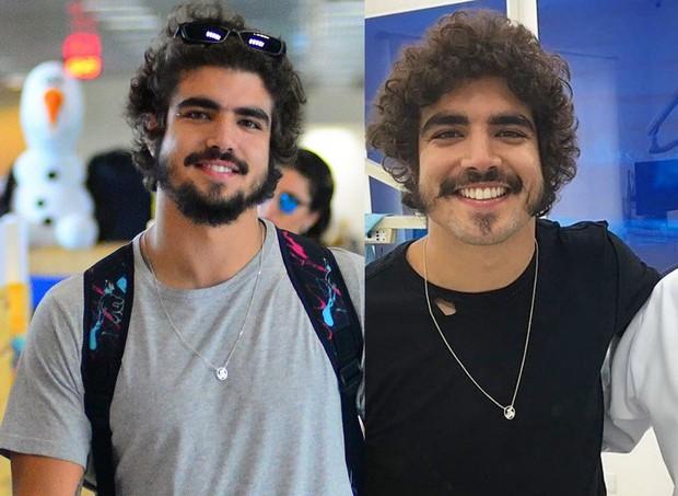 Caio Castro mudou a barba para interpretar Dom Pedro I em novela (Foto: Agnews / Instagram)