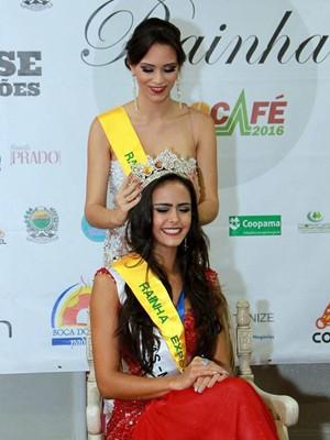 Estudantede Veterinária em Lavras vence o ConcursoRainha Expocafé 2016