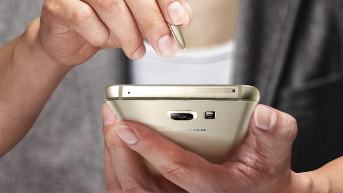 Galaxy Note 5-Home (Foto: Galaxy Note 5 possui corpo de alumínio e vidro Gorilla Glass 4 (Foto: Divulgação/Samsung))