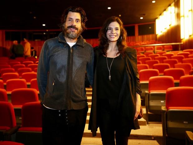 Helena Ranaldi e Daniel Alvim em estreia de peça em São Paulo (Foto: Manuela Scarpa/ Brazil News)