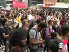 Estudantes fazem manifestação na Avenida Paulista nesta quarta-feira