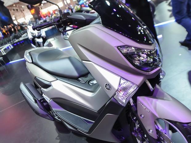Yamaha Nmax é apresentada no Salão Duas Rodas 2015 (Foto: Flavio Moraes/G1)