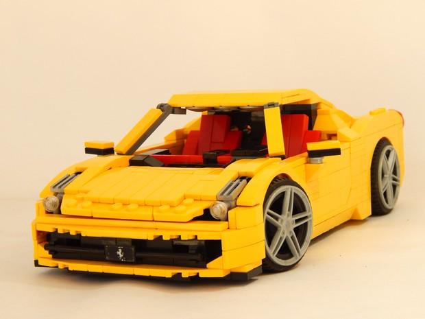 Auto Esporte Estudante De Engenharia Recria Carros Com Pe 231 As De Lego