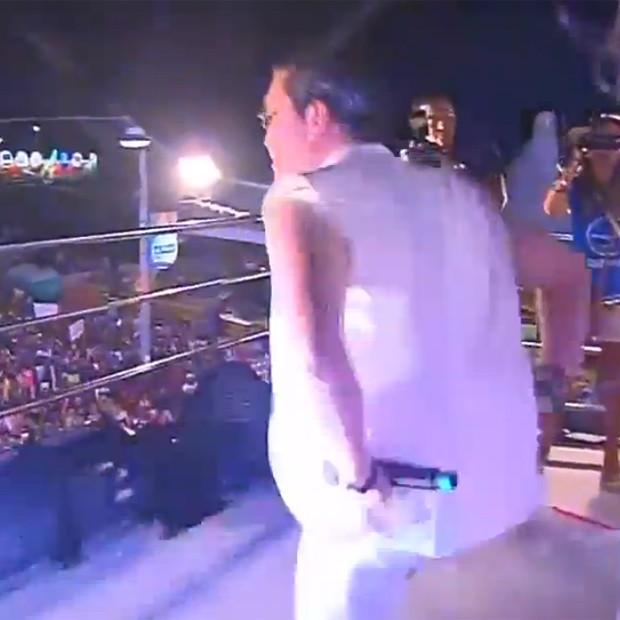 """Psy dançando """"Gangnam Style"""" (Foto: Reprodução)"""