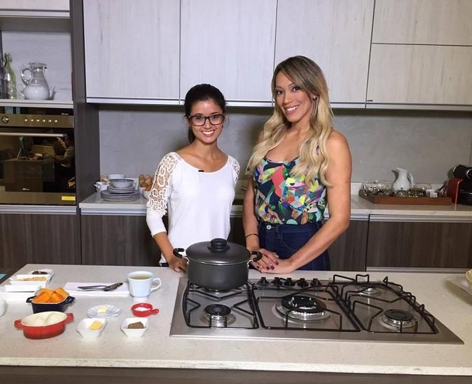 Sopa light de abóbora é destaque no 'Geração Saúde' (Foto: Tv Sergipe)