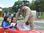 Estudantes de Palmas aplicam multas e vistoriam veículos na BR-277