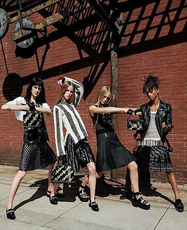 Jaden Smith na campanha feminina da Louis Vuitton (Foto: Divulgação)