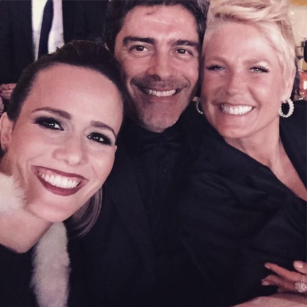 Fernanda Pontes, Junno Andrade e Xuxa  (Foto: Reprodução/Instagram)