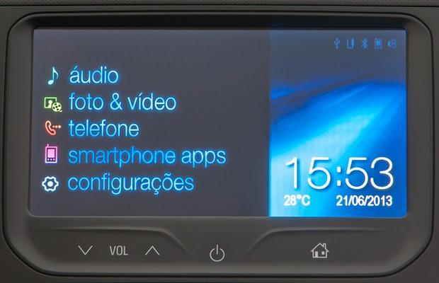 Sistema multimídia MyLink, da Chevrolet (Foto: Divulgação)