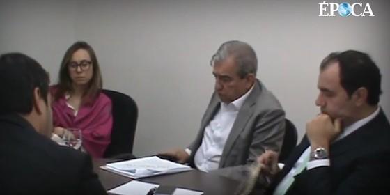 Imagem do vídeo com as delações envolvendo o presidente Temer (Foto: reprodução)