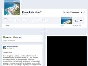 Segunda página foi criada após exclusão da primeira (Foto: Divulgação/Facebook)