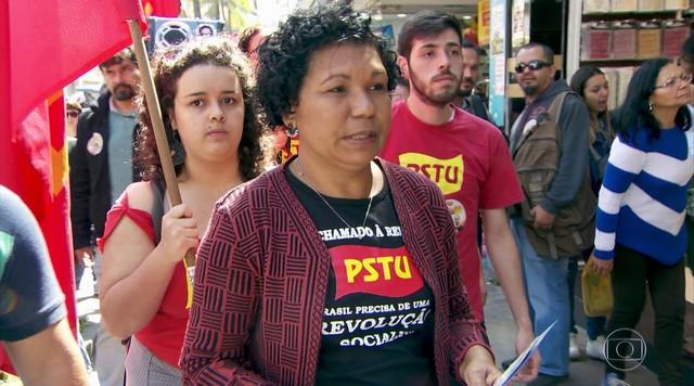 Vera Lúcia faz campanha em Osasco (SP)