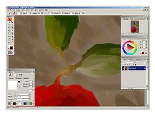 Artweaver - скачать Artweaver 5.0.6 Free, Artweaver Free - очередной графич