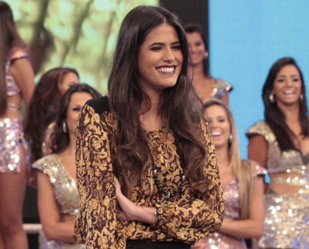 Antonia Morais (Foto: Domingão do Faustão / TV Globo)