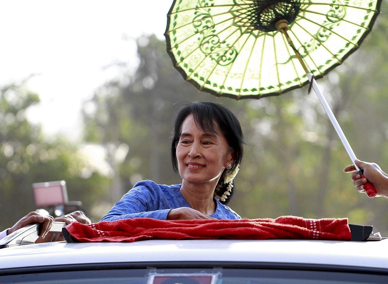 Aung San Suu Kyi (Foto: Wikimedia Commons)