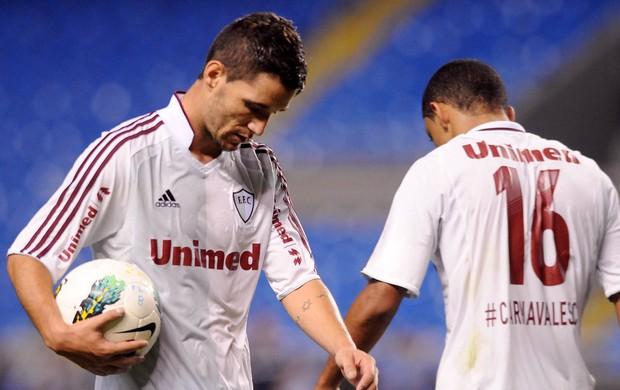 Thiago Neves Fluminense x Palmeiras (Foto: Dhavid Normando / Photocamera)