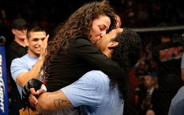 Benson Henderson luta UFC Melendez noiva (Foto: Getty Images)